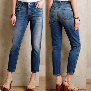 J Brand Cropped Ellis Rival Jeans